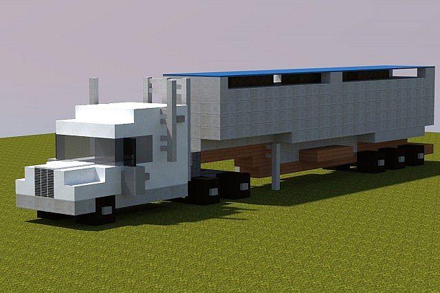 Semi Truck Realistic Minecraft Project