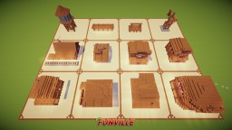 Western Building Bundle Minecraft Map & Project