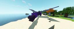 Ender Dragon Trident Minecraft Texture Pack