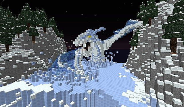 Ice Dragon Kastralis Old Project Minecraft Project