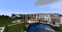 Luxurs Modern Manor Minecraft Map & Project