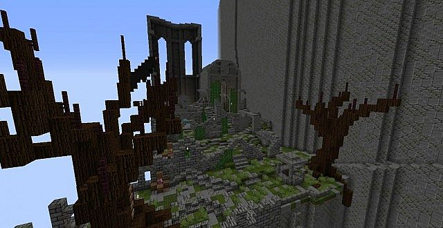 ADVENTURE MAP DARK SOULS IN MINECRAFT Minecraft Project