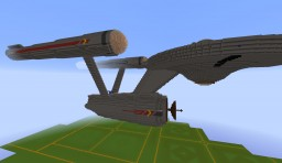 U.S.S. Enterprise NCC-1701 Minecraft Map & Project