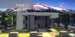:.Love++.:.Constructor's Dimension.:.Modern Home.: Minecraft Map & Project