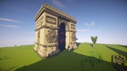 Arc de Triomphe ▲ Triumphbogen Paris ▼ Server Mineshare