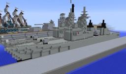 Abukuma class Frigate (Destroyer Escort) JMSDF Minecraft Map & Project