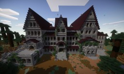 Thirteen Gables, The Haunted Asylum [LIVE @ Survival.Famcraft.com!] Minecraft