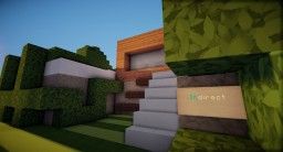 InDirect - A Modern Home Minecraft Map & Project