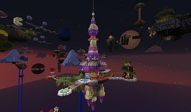 MARIO GALAXYCRAFT 18 30000 Downloads thanks Minecraft Project