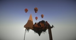 Fantasy Medieval Skyland I 15 Sub Special! I Download Minecraft Map & Project