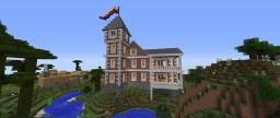 Brick Mansion Baroque Minecraft Map & Project