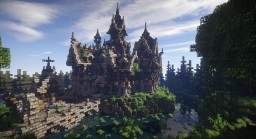 Spender's Creek (Rustic/Gothic Manor) Minecraft Map & Project