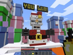 "Review on fvdisco's ""Evil Santa Boss Fight"" Minecraft"