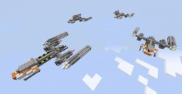 Ultimate Upgrade Y-Wing Gunship Minecraft
