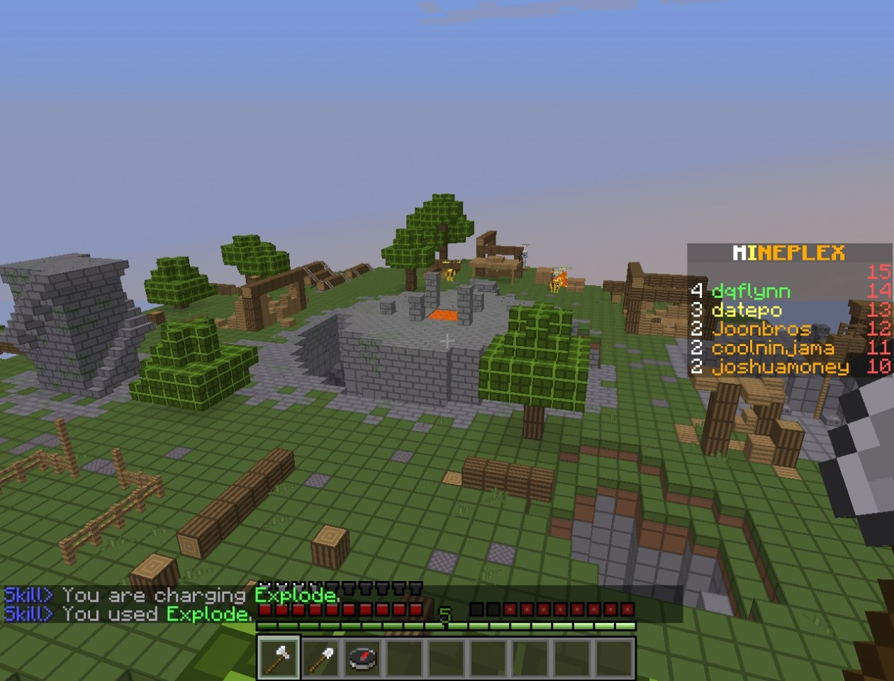 mineplex skylands map