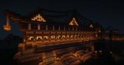 Gaspyre Japanese-esque Hidden Garden | A Blaizecraft Build Minecraft Map & Project