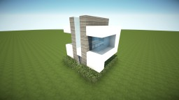 5x5 Modern House Minecraft Map & Project