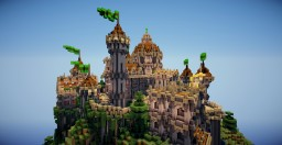 Castle PVP Arena Minecraft Map & Project
