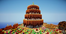 Candyland Minecraft Map & Project