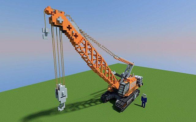 Crawler Crane Minecraft Project