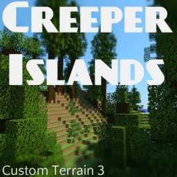 Creeper Islands - By Tamacraft123 [Custom Terrain - WorldPainter] [30 Subscribers special] Minecraft Project