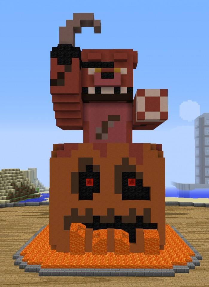 Foxy Build Minecraft