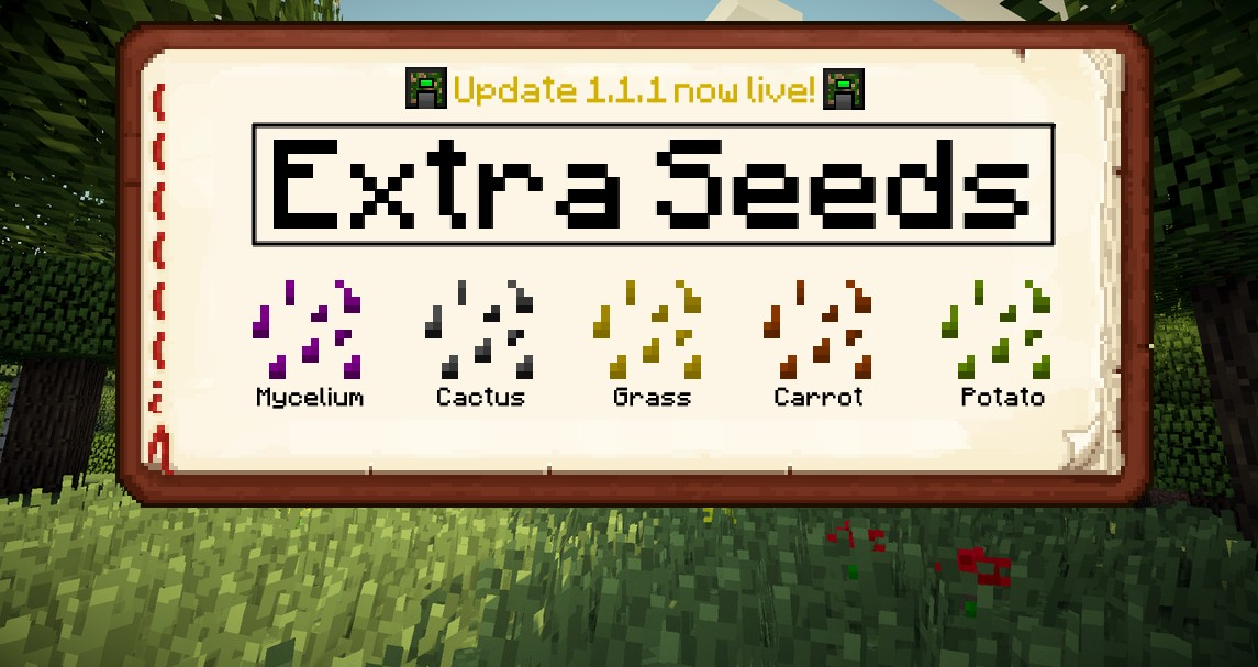 1 7 10] [Forge] Extra Seeds 1 1 1 (new things added, more to come