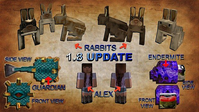 mobs18171154 [1.9.4/1.8.9] [64x] Intermacgod Realistic Stone Age Texture Pack Download