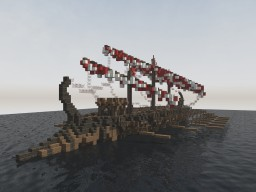 Roman war galley [Realistic] Minecraft Map & Project