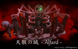 Castle of the skeleton ~ Alfard ~ Minecraft