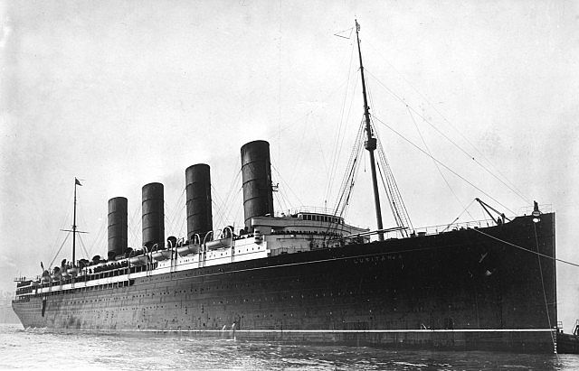 RMS Lusitania in Real