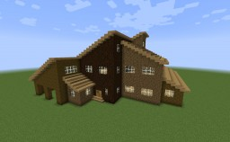 Shed-Roof House (House O) Minecraft Map & Project