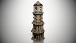 Baroque Clock Tower Minecraft Project