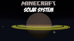 Solar System - Huge Scale Minecraft