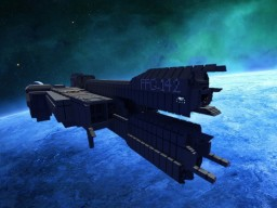 UNSC Stalwart-class Frigate [1:1 Scale!] Minecraft Map & Project