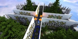 The Forest of the Woodsman (The Walls Map) Minecraft Map & Project