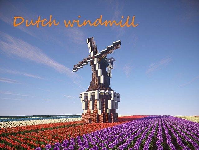 how to build a windmill in minecraft