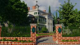 The Haunted Mansion Disneyland (BEST MINECRAFT VERSION EVER) Minecraft Map & Project