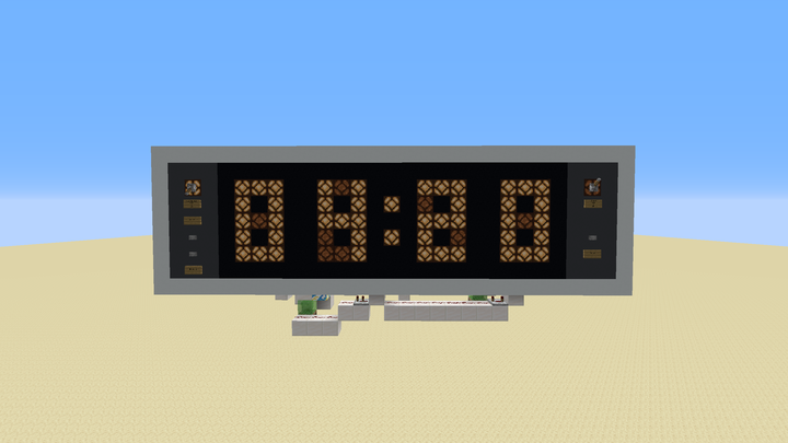 Front of Clock. Nice