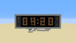 Redstone Clock v3 - Pistonless Mechanism, Syncs to Game Time Minecraft Map & Project