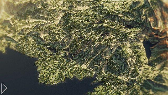 Ranatat hills near the coast.