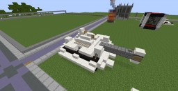 Model Quartz Tank - REKT-32 Minecraft Project
