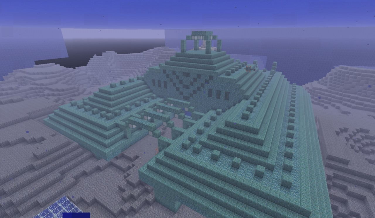 Drained Water Temple [1 8+] Minecraft Project
