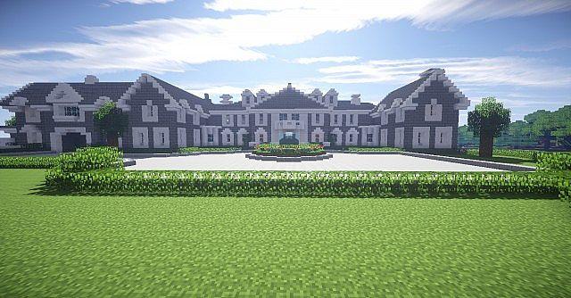 Stone Mansion Designful Minecraft Project