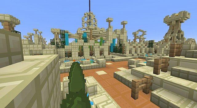 Gardens Of Persepolis Minecraft Map