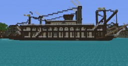 Steampunk Collection (Steam Liner) Minecraft Map & Project