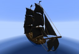 "1st rate Pirate ship ""The Divourer"" Minecraft Map & Project"