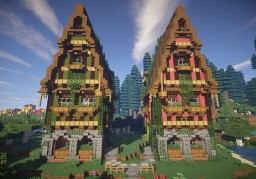 Late Medieval house series 2 Minecraft Project