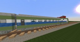 E464+6 MDVE passenger car of Trenitalia Minecraft Map & Project