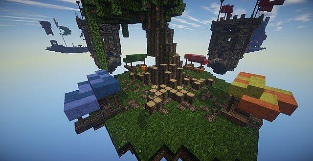 KINGDOMS X BedWars Map DOWNLOAD Minecraft Project - Maps fur minecraft runterladen